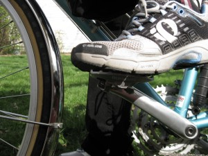 Shimano a530 with a street shoe