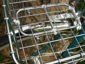 Zip tied Wald basket