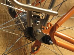 adapter mounted to bike