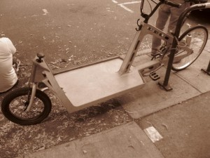 plywood cargo bike
