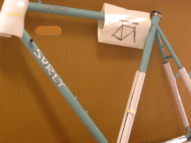 surly cross check frame