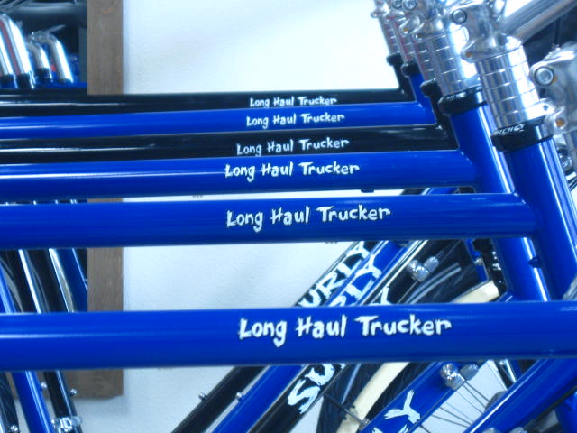 6 Surly Long Haul Truckers