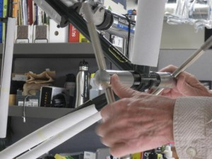 Chasing bottom bracket threads