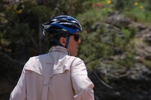 bike hermit with sun shirt