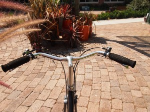 Ahearne/Map handlebars form rider's perspective