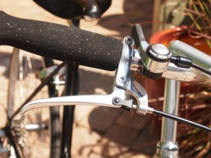 shifter and brake lever