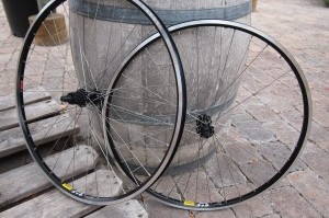 A Bike Touring Wheelset