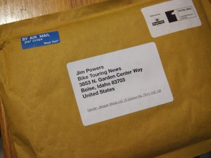 unopened envelope