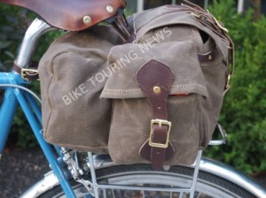 side view of saddlebag