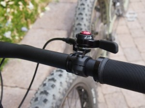 top mount thumb shifter