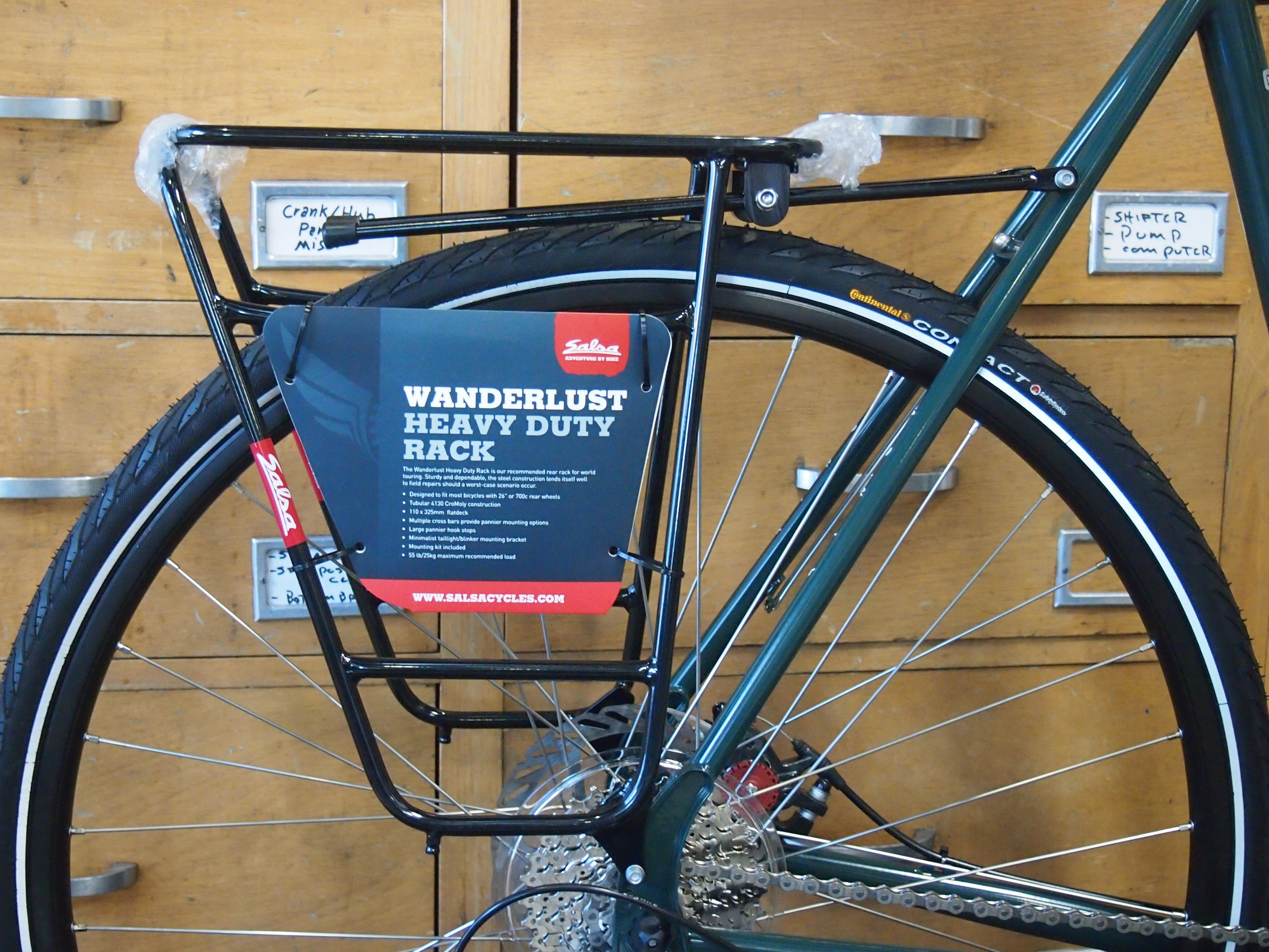 Salsa Wanderlust Rear Bicycle Rack