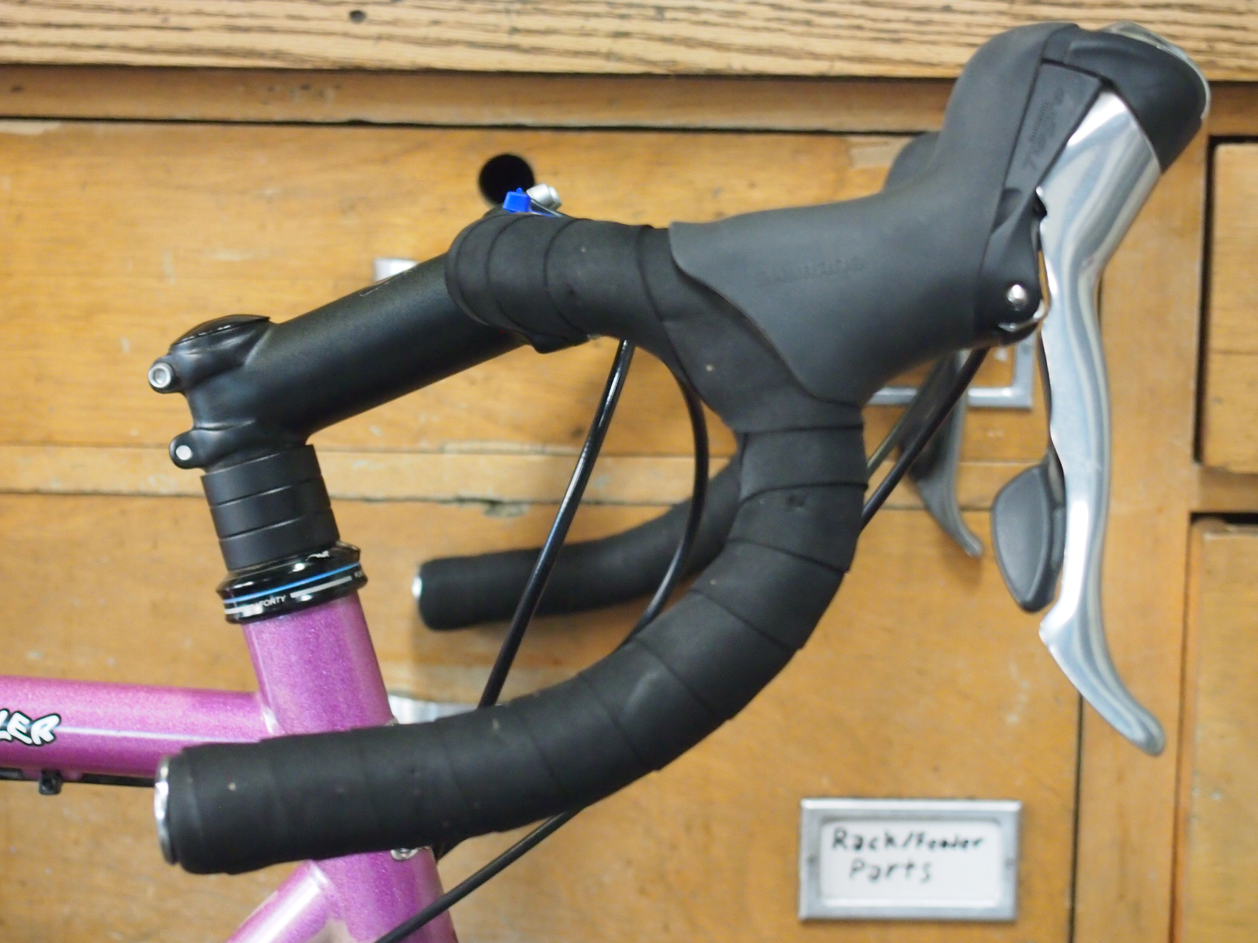 handlebar and brake hoods