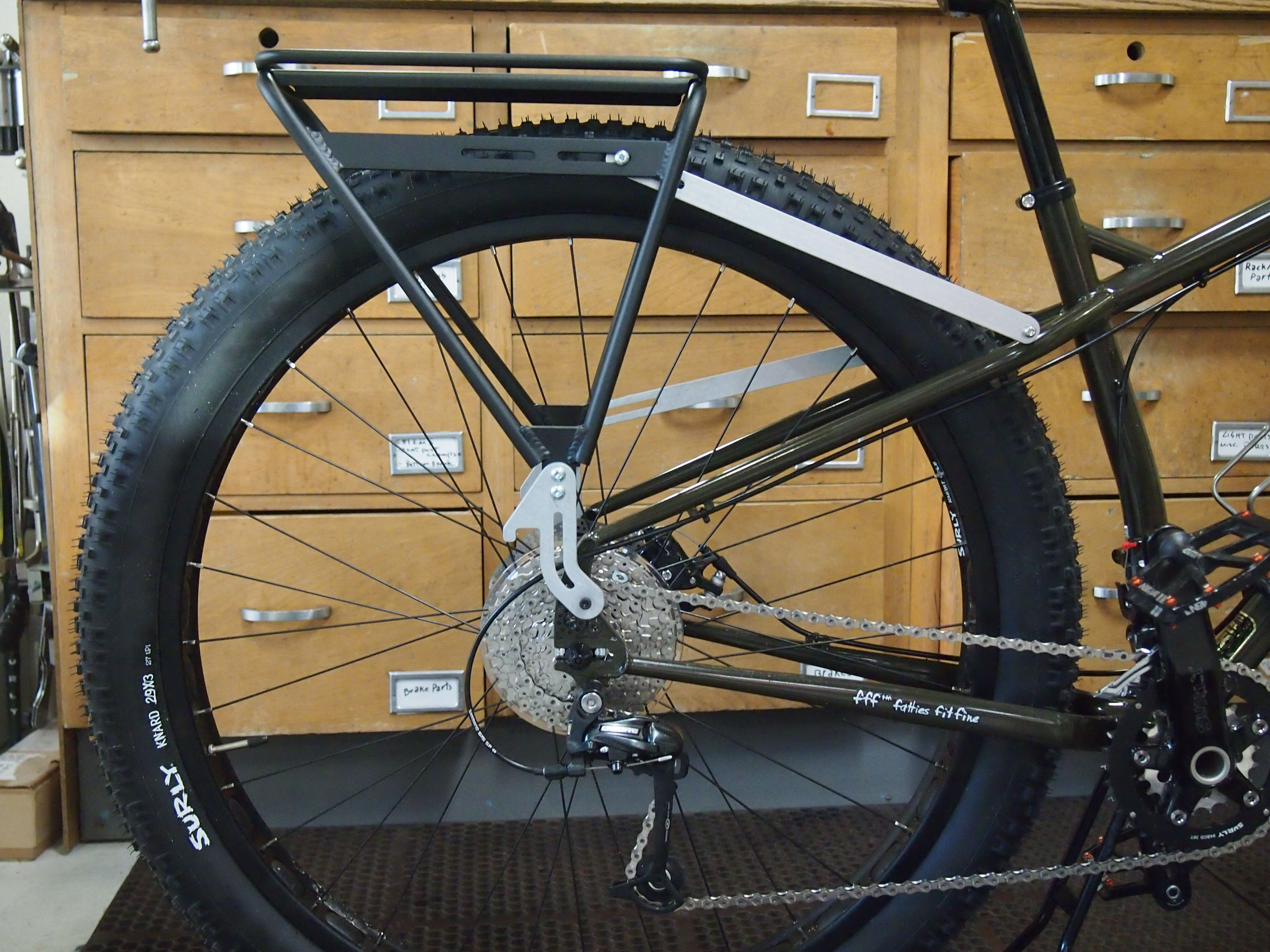 A Rear Rack On The Surly Ecr