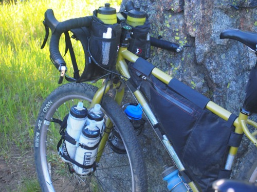 picture of bike and bottle cages