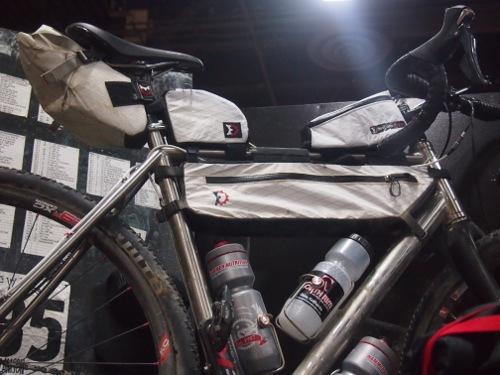 bags on a bike