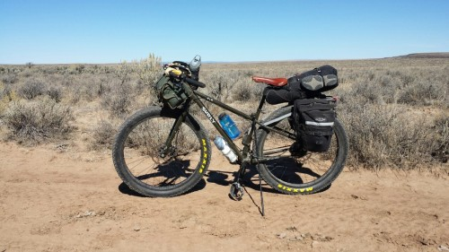 Bikepacking bike