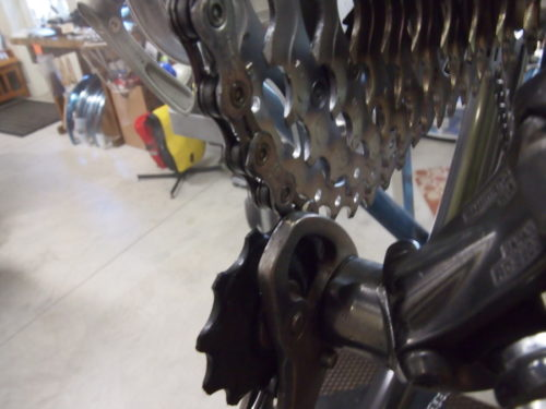 rear derailleur pulley