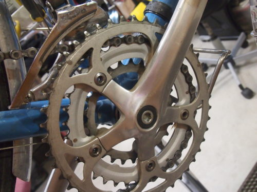 triple touring crankset