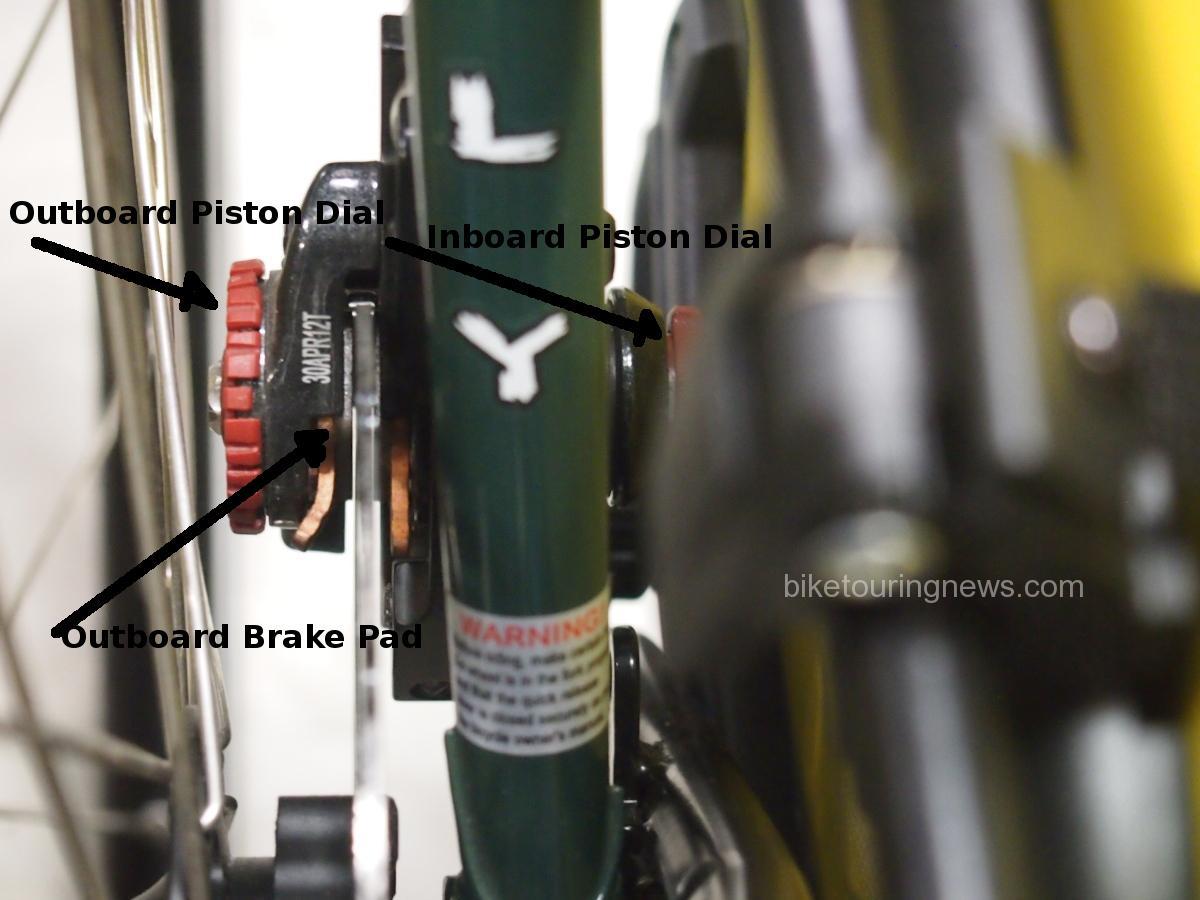 view of disc brake rotor