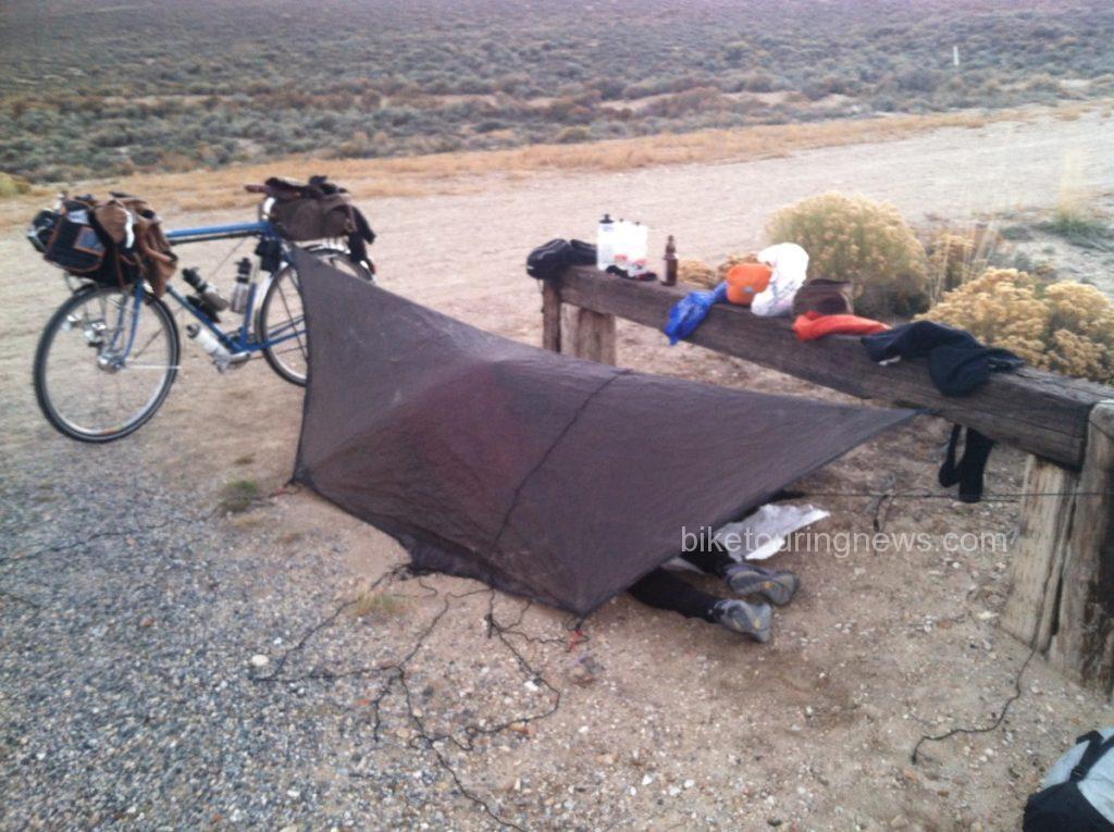 image of tarp tent